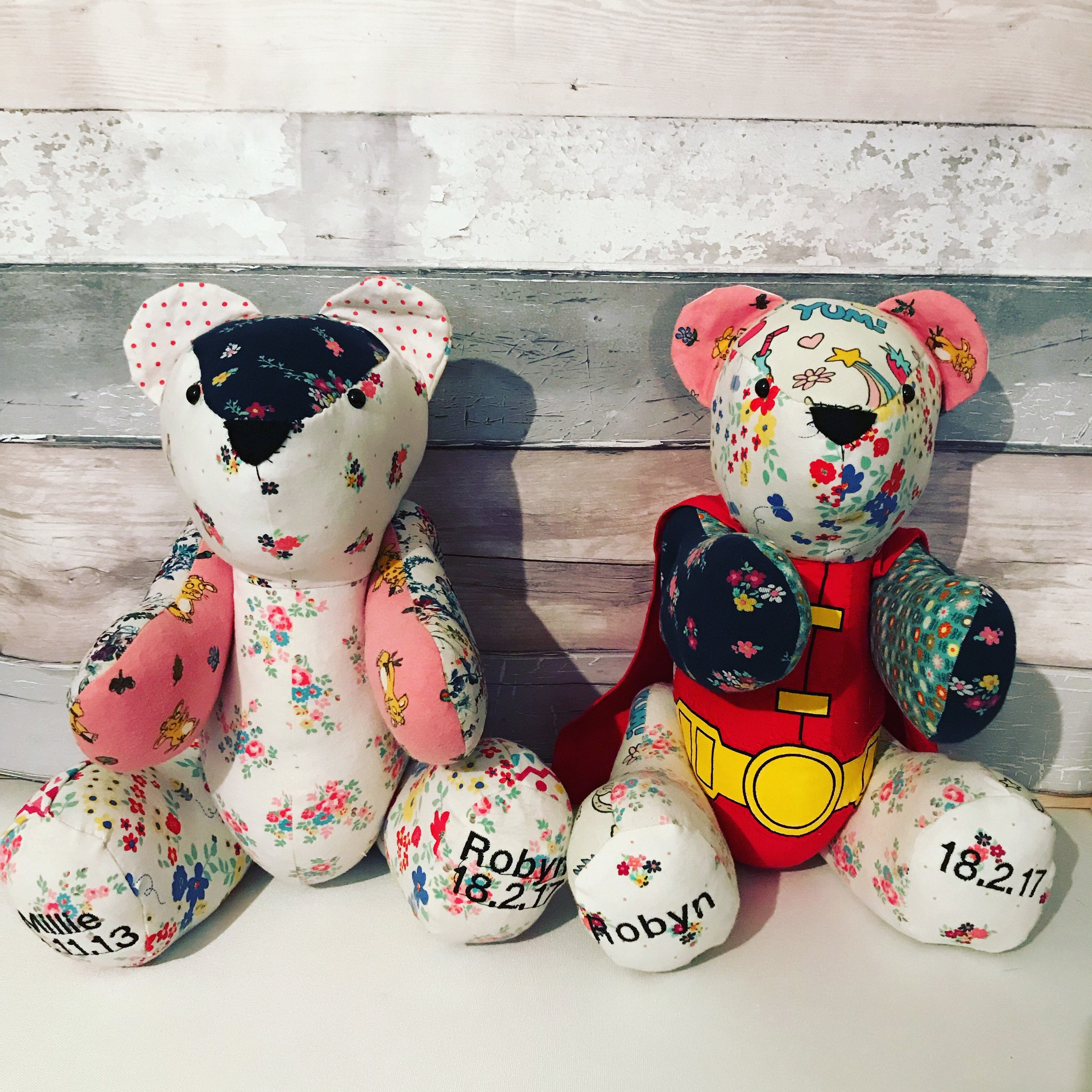 Keepsake Memory Bear Made From Clothing Of Your Choice
