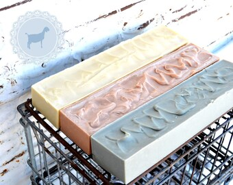 Bulk Soap Loaf 4 lb.| Farm Fresh | Pastured | Palm-Free Goat Milk Soap