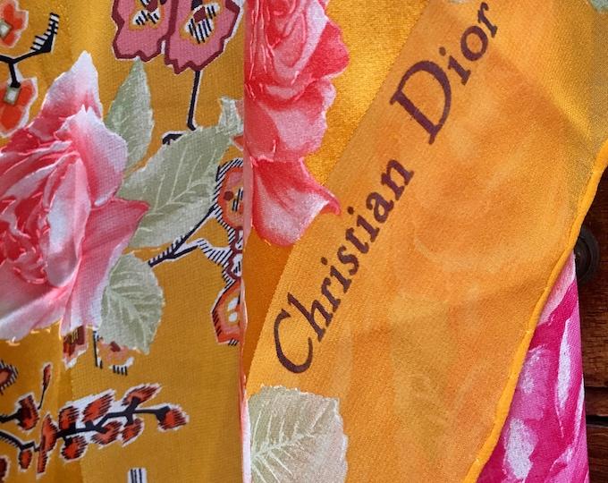 Maxi Dior scarf