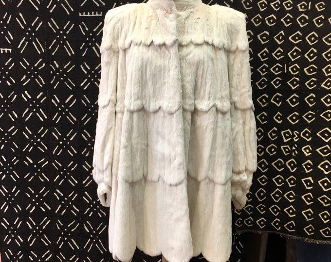 White ermine jacket