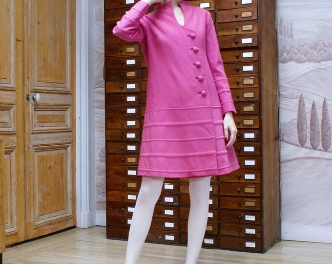 Coat pink 50's