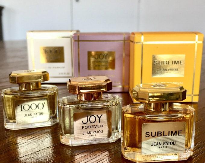 Jean Patou perfumes