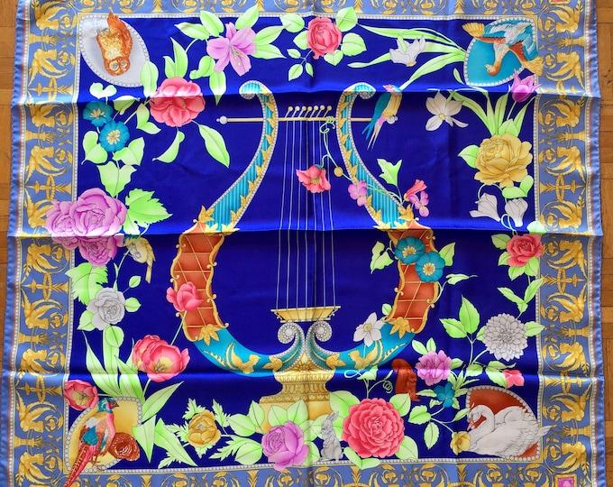 Léonard silk scarf