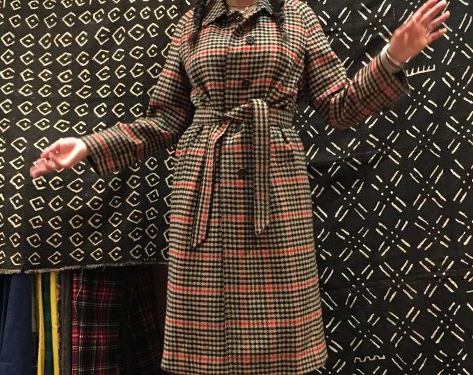 Burberrys wool coat