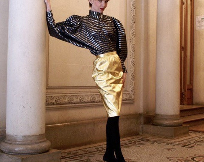 80s blouse