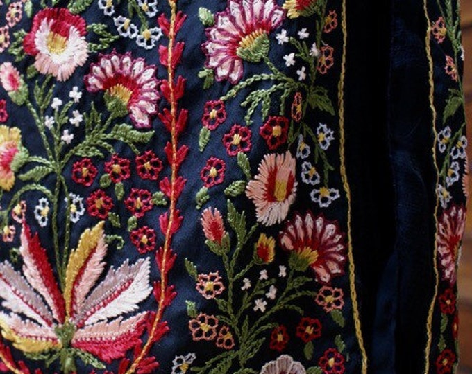 1920 embroidered skirt