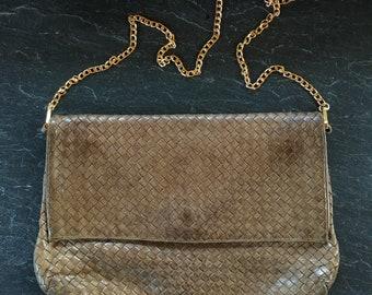 d502b0f4b4def Items similar to Charles Jourdan Bag/Designer Bag/brown velvet bag ...