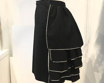 Black Dorothée Bis skirt