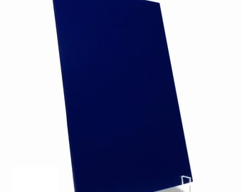 Blue Acrylic Sheet Plexiglass Perspex 2mm Thick 210mm x 300mm A4 Size