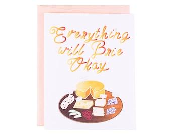 Funny Encouragement Card, Funny friendship card, funny just because card for best friend, funny thinking of you card, funny sympathy card