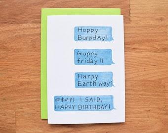 Funny birthday card, best friend birthday card, funny birthday card boyfriend, funny birthday card friend, funny birthday card for him