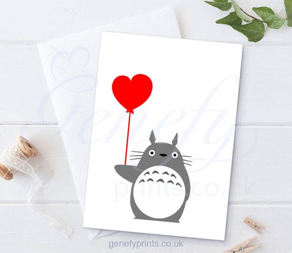 Studio Ghibli My Neighbour Totoro Card