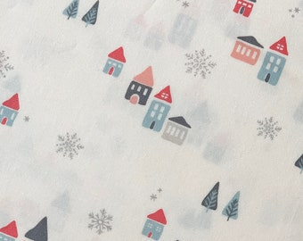 Little Town - Snowdrift Joy / by Art Gallery Fabrics 1/2 Yard - Modern Quilting Fabric - Christmas Fabric - Holiday Fabric - Modern Quilts