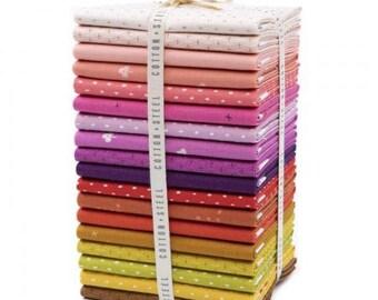 RJR Fabrics Panorama Fat Quarter Bundle 5999 Cotton+Steel 100/% Cotton Fabric 14 Pieces