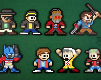 Movie / TV Show Sprites (Breaking Bad, Guardians of the Galaxy, Evil Dead, Transformers, Back to the Future)