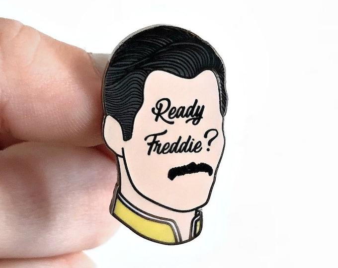 Freddie Mercury Enamel Pins - Ready Freddie