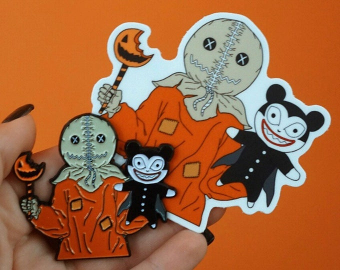 Nightmare Before Trick'mas Enamel Pin