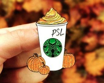Pumpkin Spice Latte - Starbucks PSL Enamel Pin