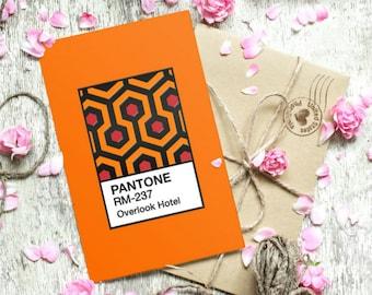 The Shining Carpet Pantone Inspired Art Print