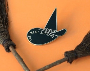 The Next Supreme Witch Hat Pin