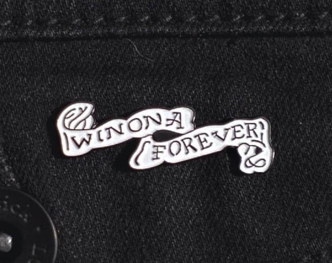 Winona Forever (Johnny Depp Tattoo) Soft Enamel Pin