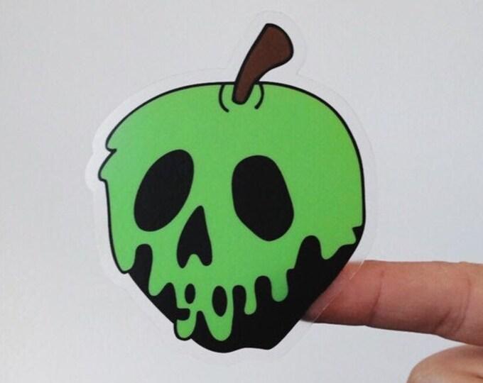Green Poison Apple Sticker
