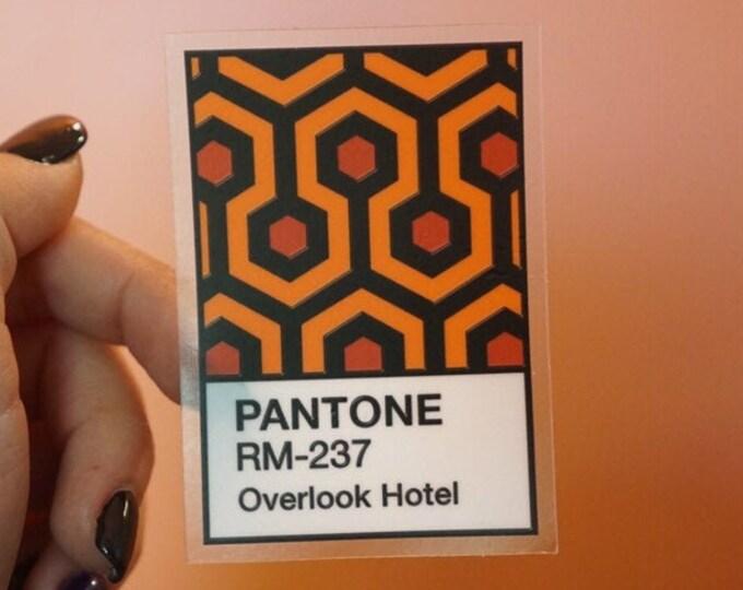 The Shining Carpet Pantone Sticker
