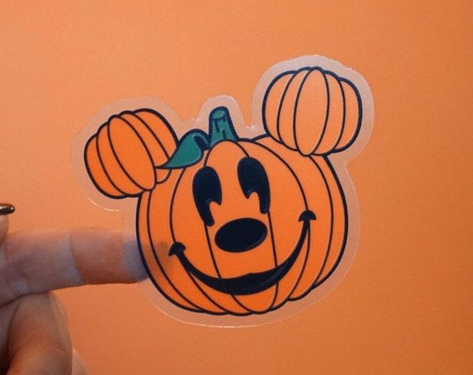 Pumpkin Mickey Sticker