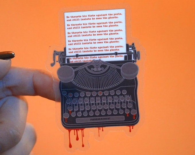 Stephen King Lovers Sticker