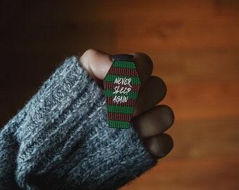 Nightmare on Elm Street / Freddy Krueger Sweater — Never Sleep Again Enamel Pin