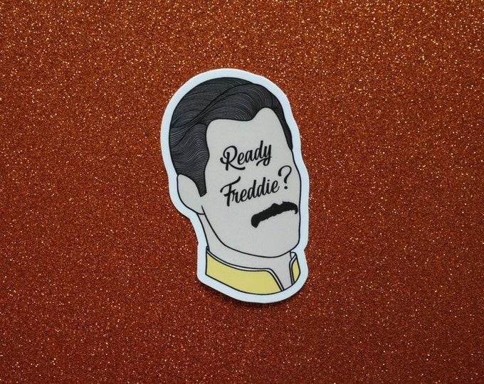 Ready Freddie Sticker