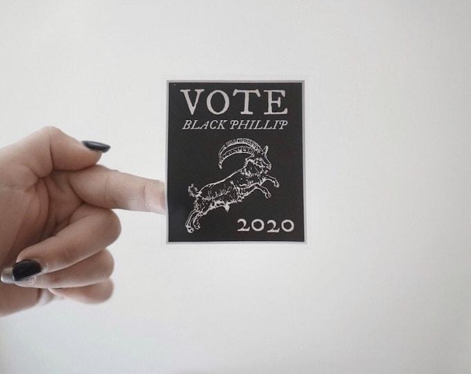 Vote Black Phillip Sticker