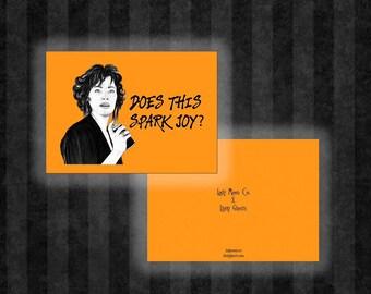 Delia Deetz Spark Joy Greeting Card