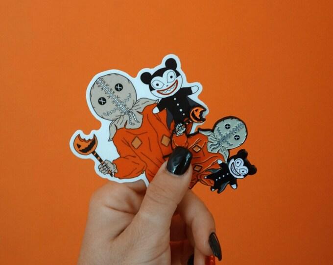 Nightmare Before Trick'mas Sticker