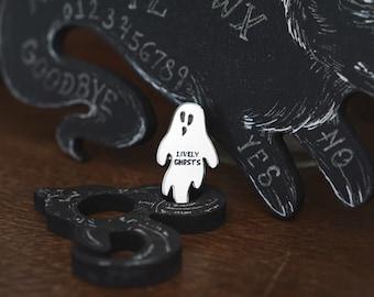 Lively Ghosts Ghostie Enamel Pin