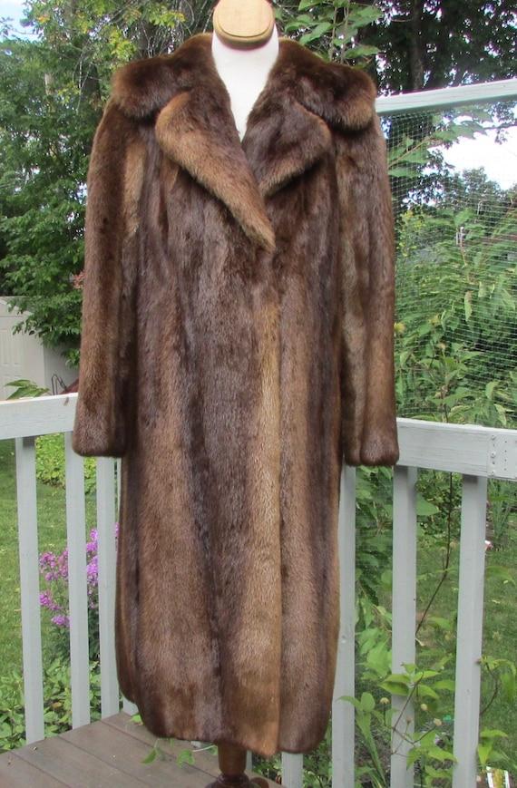 Ladies river ottar fur coat