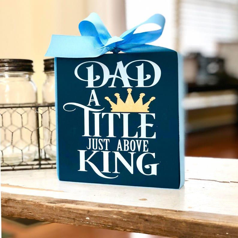 Gift For Dad Husband Best Sign
