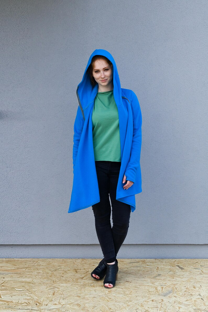6087f3efae1 Sweatshirt Women Warm Hoodie Coat Tunic Hooded Coat Loose | Etsy