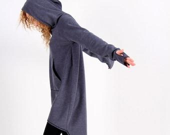 Hoodie Dress, Sweatshirt Dress, Women Tunic Tops, Womens Hoodie, Hooded Sweatshirt, Tunic Hoodie, Loose Styles, Fall Clothing, Relaxed