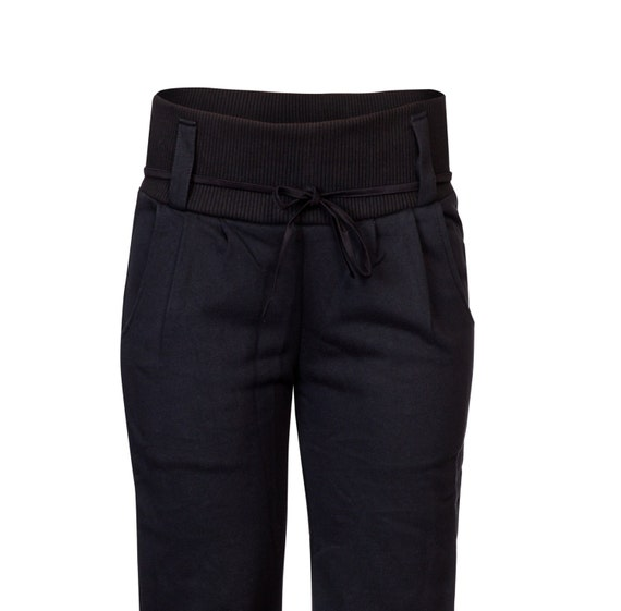 Pants for pants women Black Loose Trousers Pants Black rrqdBwnC