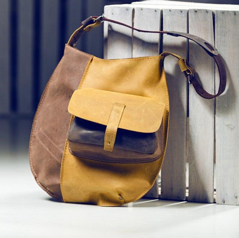 ca12d24cc8 Women s HandbagLeather handbag Brown Handbag Handmade