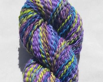 Spring Garden ~ Handspun Wool/Silk Yarn