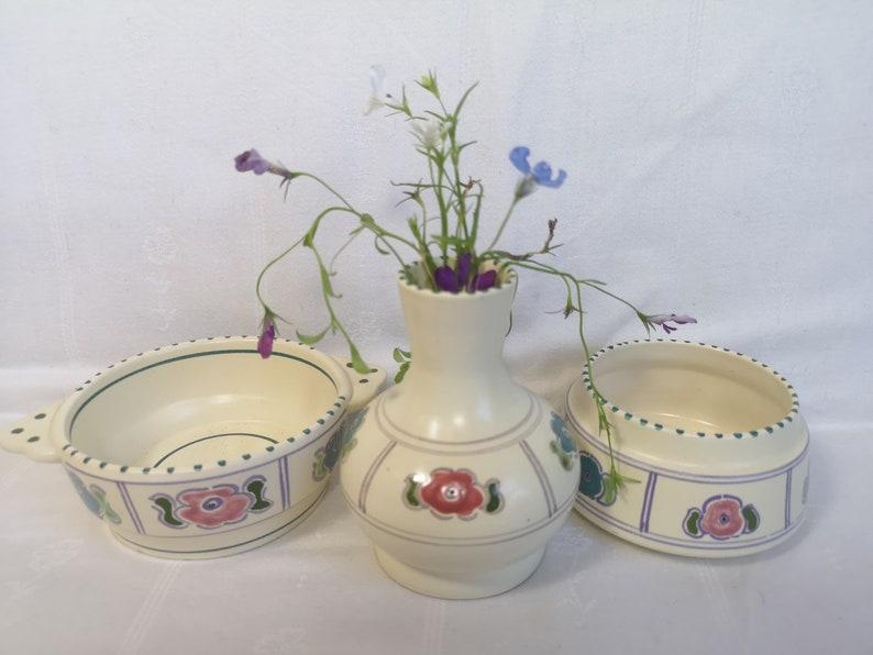 Pottery Vintage Honiton Devon Dish