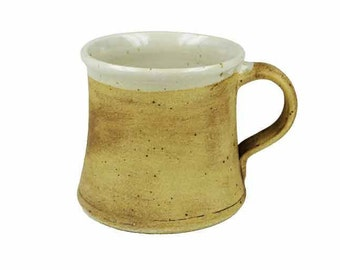 Ceramic cup small earthy