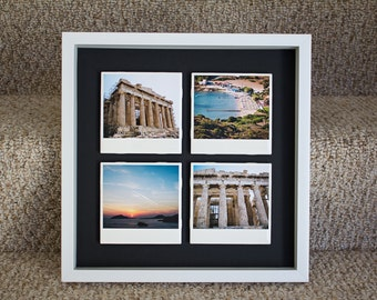 Greece Photo Tiles, Polaroid Photography, Photo Prints, Wall decor/art/hanging, Arts and Collectibles