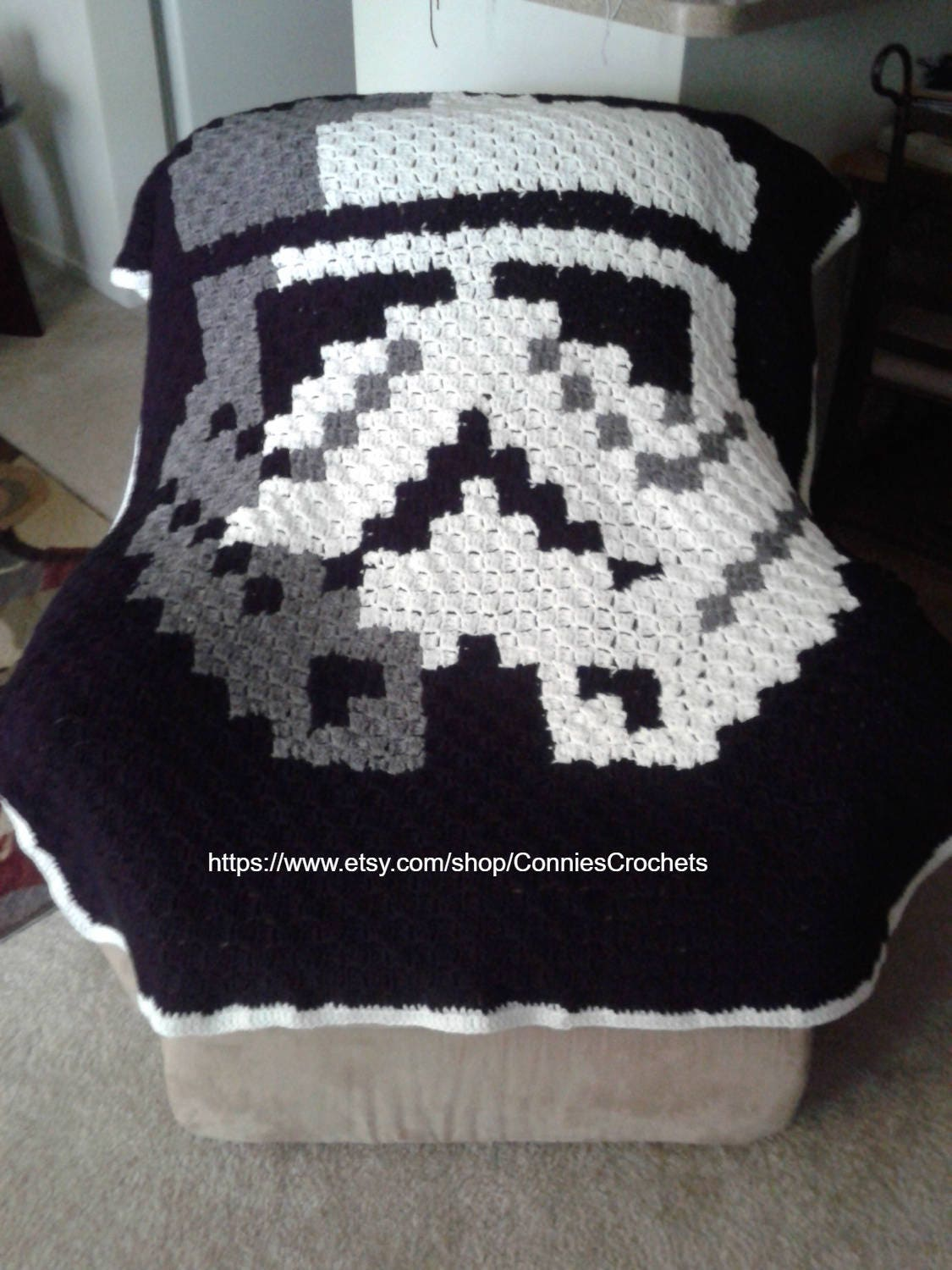 Digital unique star wars stormtrooper c2c blanket graph pattern and this is a digital file publicscrutiny Gallery