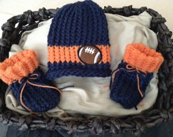 8c88ced4d Denver Broncos baby football hat