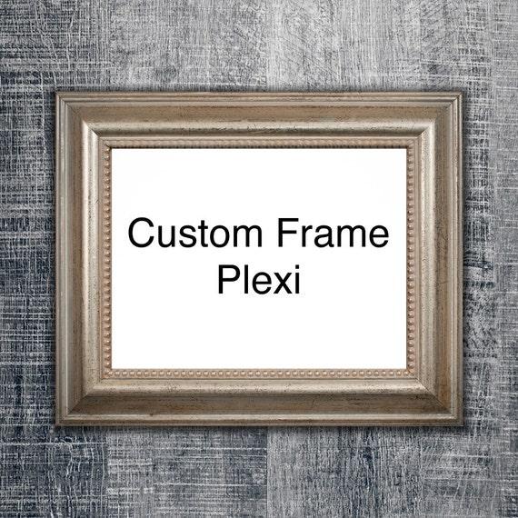 Add Plexi To Custom Frame Plexiglass Plexi Glass Glass Etsy