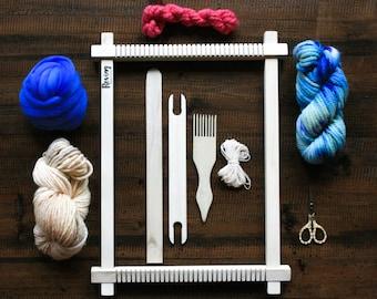 Weaving Loom Kit   Lap Loom   Hand Weaving   Wall Hanging   Frame Loom  