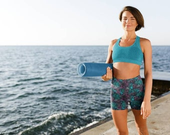 Short. Workout shorts. Size S. Dance practice pants. Handmade. UV Protection